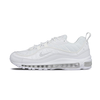 superior quality 0e936 79643 NIKE AIR MAX 98 - Triple white - AVAILABLE NOW - The Drop Date