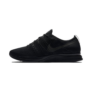 c7385e8e0bb7b Nike Flyknit Trainer -TRIPLE BLACK - AVAILABLE NOW - The Drop Date