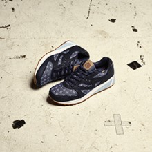 1754a9c73e1e Old Meets New on the Up There x Saucony Grid 8000 Sashiko. February 22nd ...