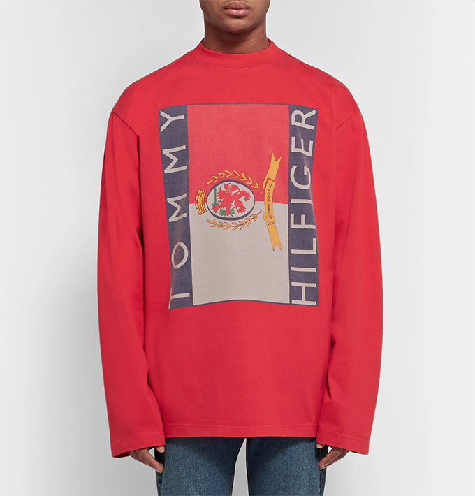 Future prep: get the VETEMENTS X TOMMY HILFIGER CAPSULE ...