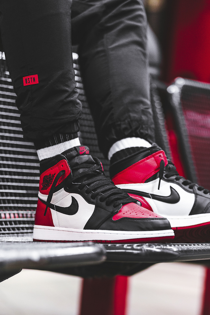 air jordan 1 retro bred toe