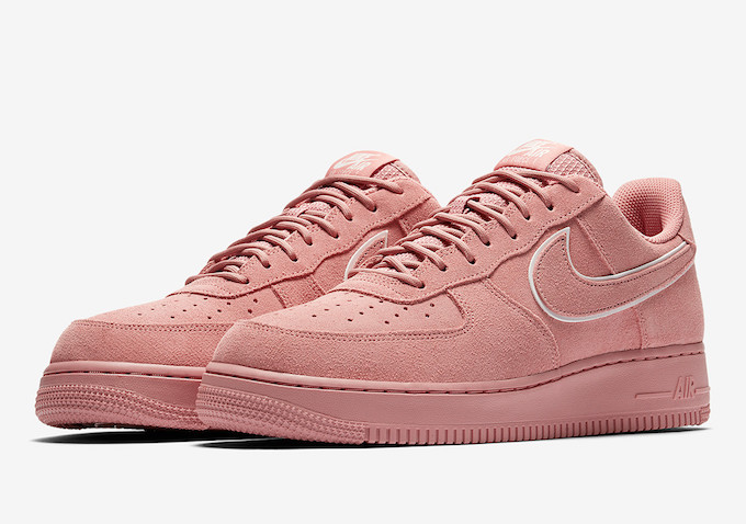 the best attitude 1278b 9bc68 The Nike Air Force 1 Low Suede Pack is Ready for Spring