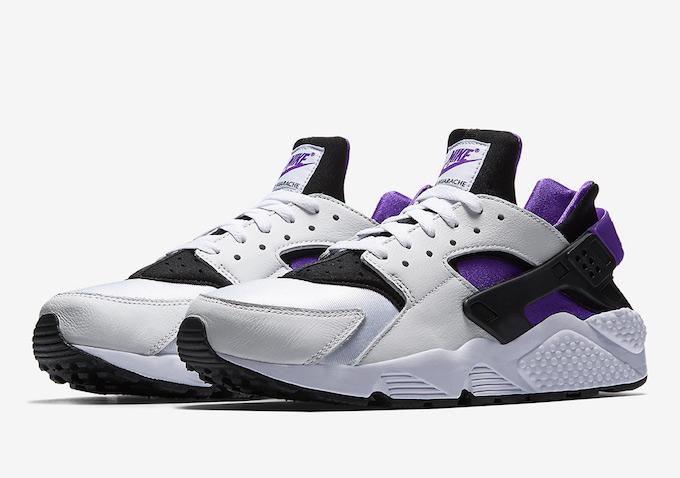 04d319e1e5eb0 The Nike Air Huarache Run 91 QS Packs a (Purple) Punch - The Drop Date