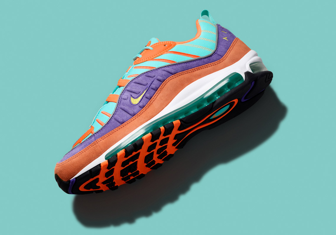 nike air max 98 qs orange