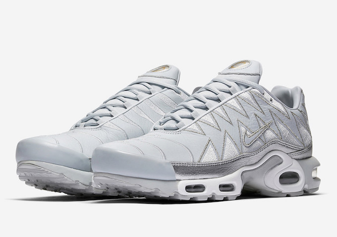 df28a2b0d11bf3 The Nike Air Max Plus gets a Metallic Makeover - The Drop Date