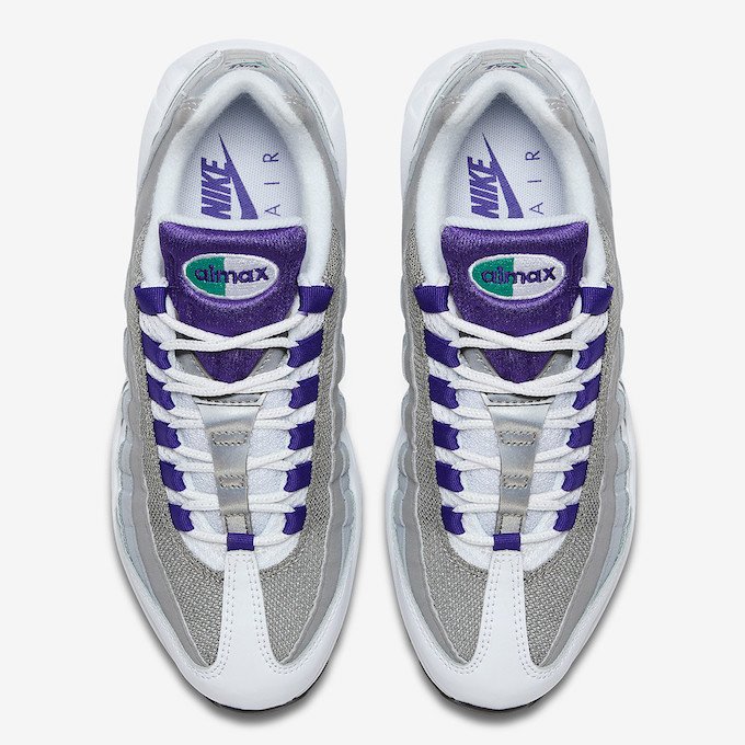 timeless design a62ee 6785b Coming This April: The Mouthwatering Nike Air Max 95 Grape ...