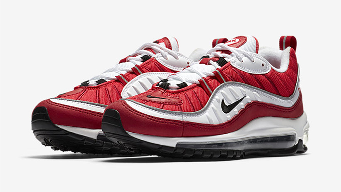 brand new 13ccd e3556 For the Lovers: Nike Air Max 98 Gym Red - The Drop Date