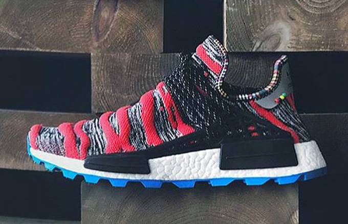 15ed83d996b0 adidas Originals x Pharrell Williams NMD Hu Afro Pack. adidas Originals  latest releases banner. Images  presentedby.
