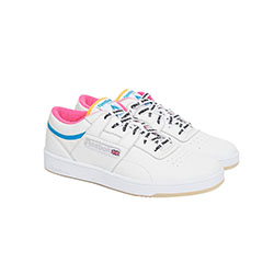 90e66065308d The Palace x Reebok Classic Workout Certainly Isn t Lacking In Colour…