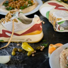ac2c4643663c Pass the Chips  Sneakerbox x le coq sportif R800 Hummus. February 13th ...