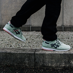 ASICS x Gel Lyte III Wasabi: On Foot Shots The Drop Date