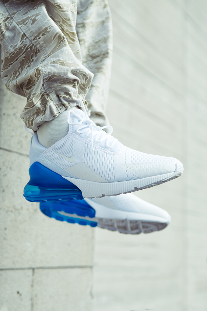 Launching on Air Max Day  The Nike Air Max 270 White Pack - The Drop ... ae3913850