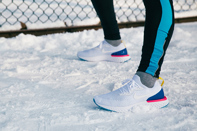 Nike Epic React Flyknit On Foot Shots The Drop Date