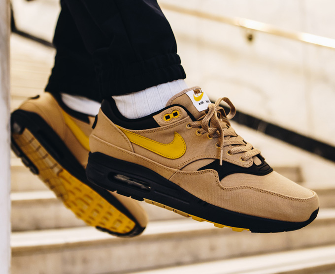 eceaa513fca97c Nike Air Max 1 Elemental Gold  On-Foot Shots - The Drop Date