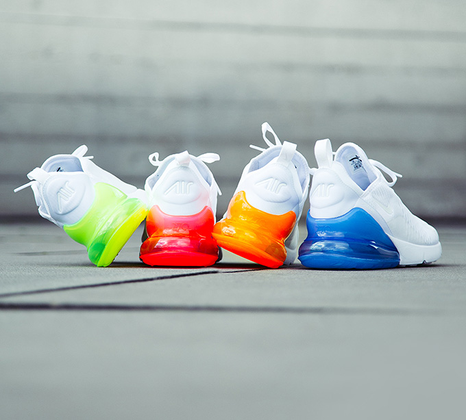 16efcadc11f1e4 Launching on Air Max Day  The Nike Air Max 270 White Pack - The Drop ...