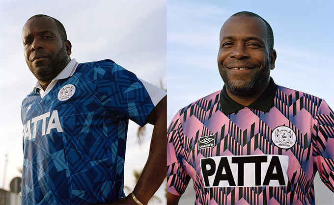 3847bb20eef The PATTA X UMBRO FOOTBALL JERSEY 2018 COLLECTION is about to kick ...