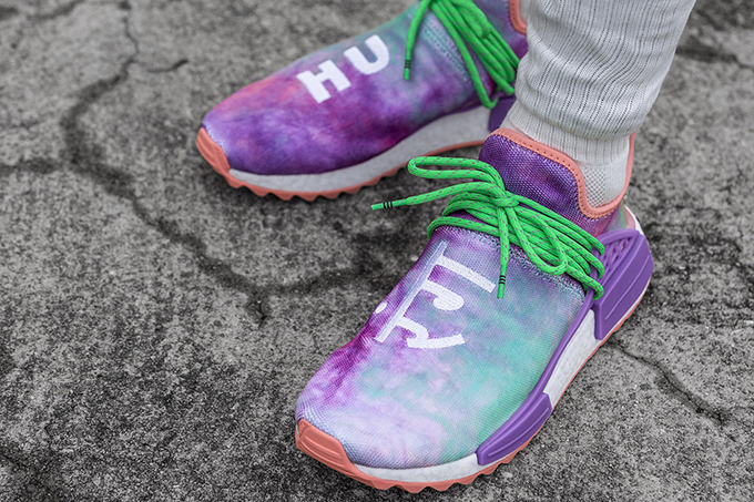 Pharrell Williams x adidas Originals Hu Holi NMD Powder Dye Pack  On ... 195e4d950