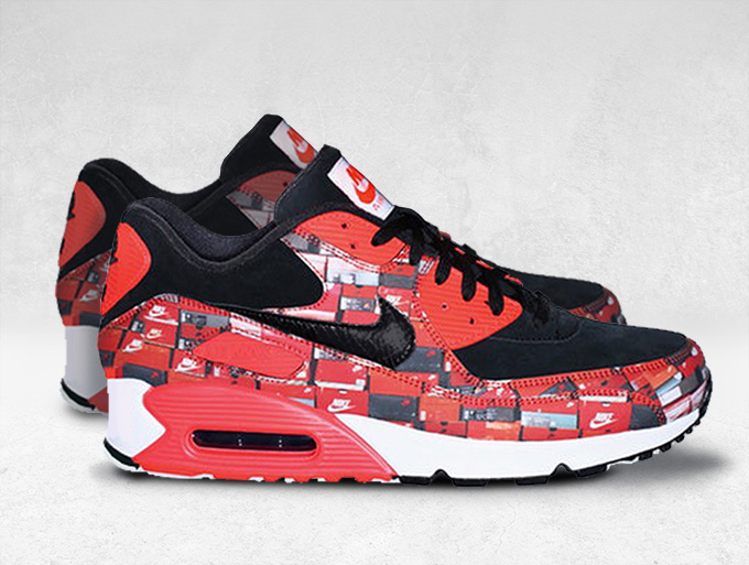 best service 9c2f0 32dfc Boxing Clever with the Forthcoming atmos x Nike Air Max 90 ...