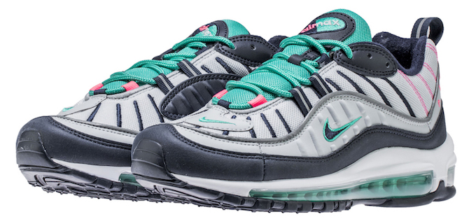 The South Beach Colourway Hits The Nike Air Max 98 The