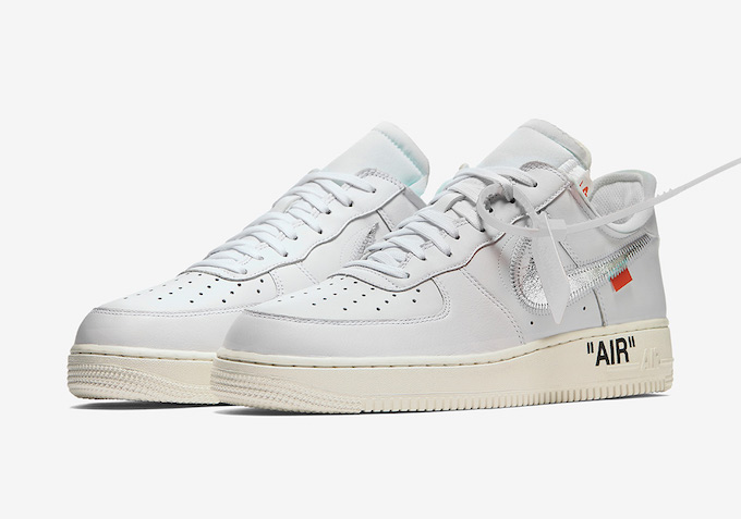 running shoes hot sales cute Next Up: OFF-White x Nike Air Force 1 - The Drop Date