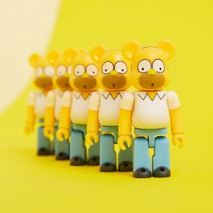 The MEDICOM X THE SIMPSONS HOMER BEARBRICK is the best impulse purchase you'll make all week. Click the thumbnail to shop.