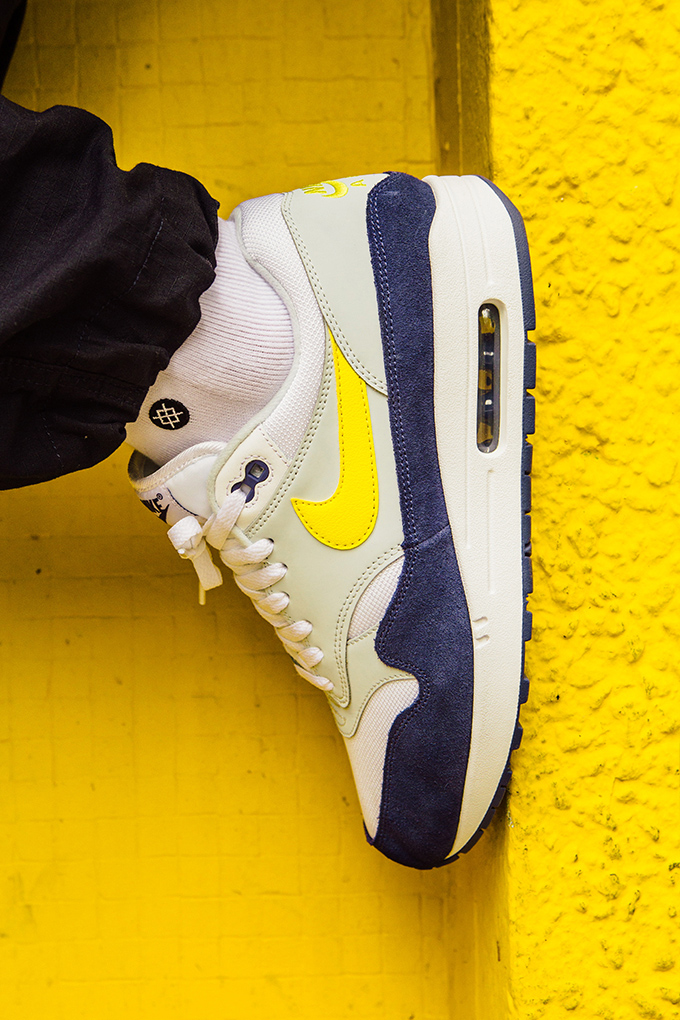 975eccd84bbaa8 Nike Air Max 1 Tour Yellow  On-Foot Shots - The Drop Date
