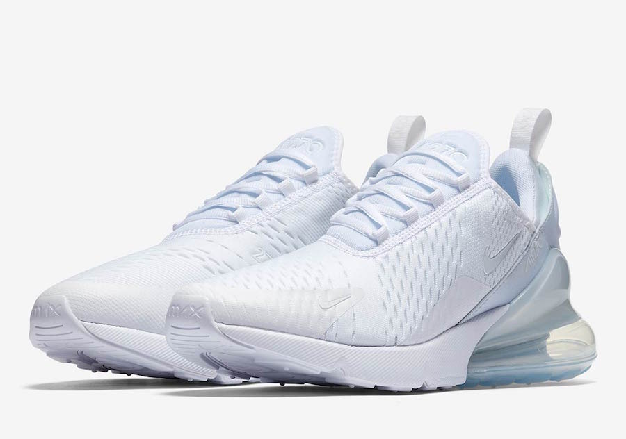 41fbe9214697 Iced Out  The Nike Air Max 270 Triple White - The Drop Date