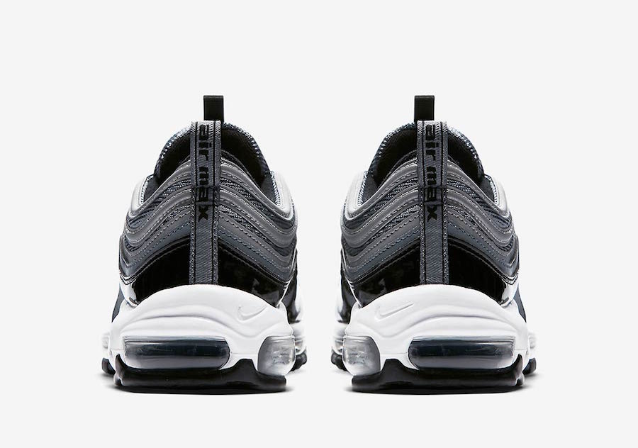 on sale b1797 9e554 The Nike Air Max 97 Black Patent Leather Gets a Luxury ...