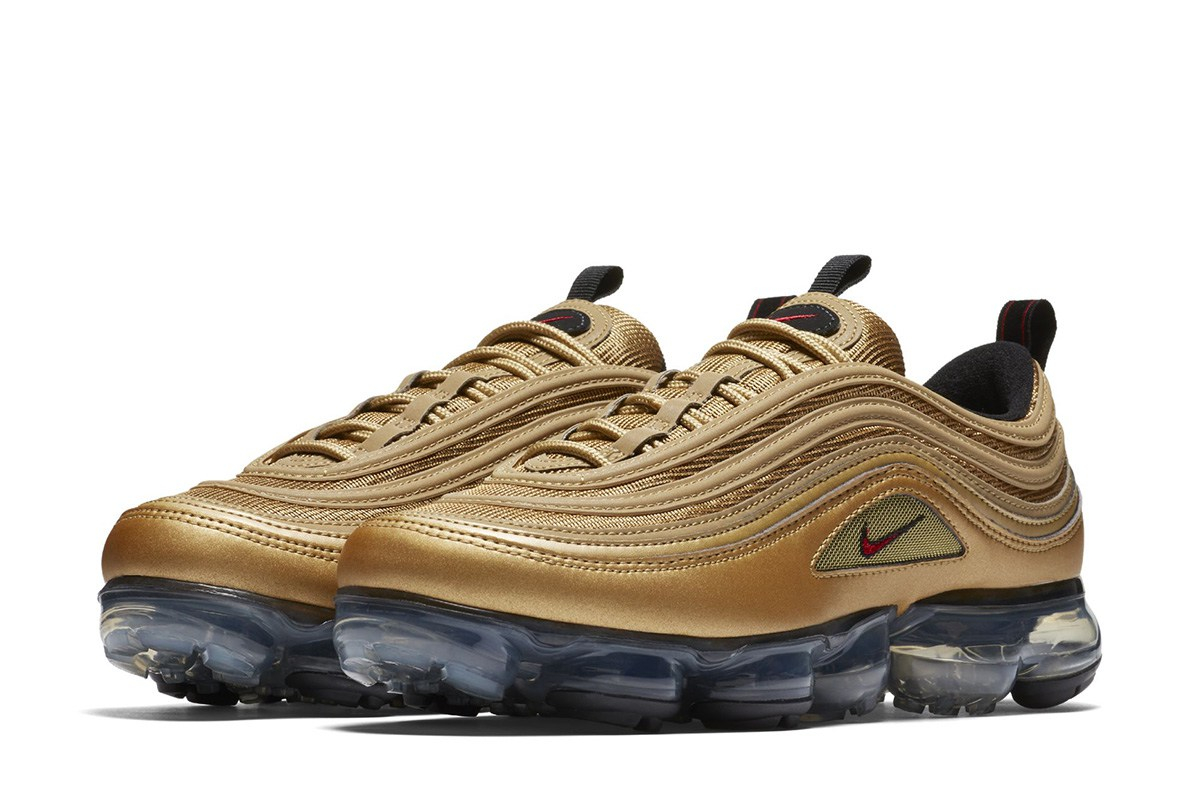 best sneakers 8c96d 2c0d4 Dripping Gold: Nike Air Vapormax 97 Metallic Gold - The Drop Date