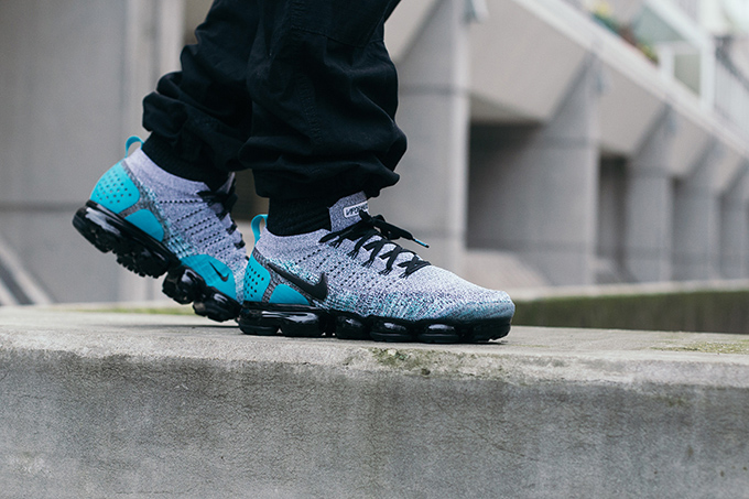 25e8c25cc54b0 The NIKE AIR VAPORMAX FLYKNIT 2 follows the Air Max 270 and the Air Max 93  and lands in the much-liked Dusty Cactus colourway.