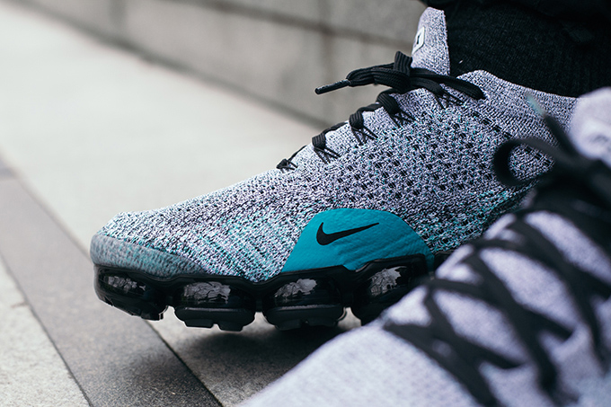 watch 2a44d 58b1b Nike Air VaporMax Flyknit 2 Dusty Cactus: On-Foot Shots ...