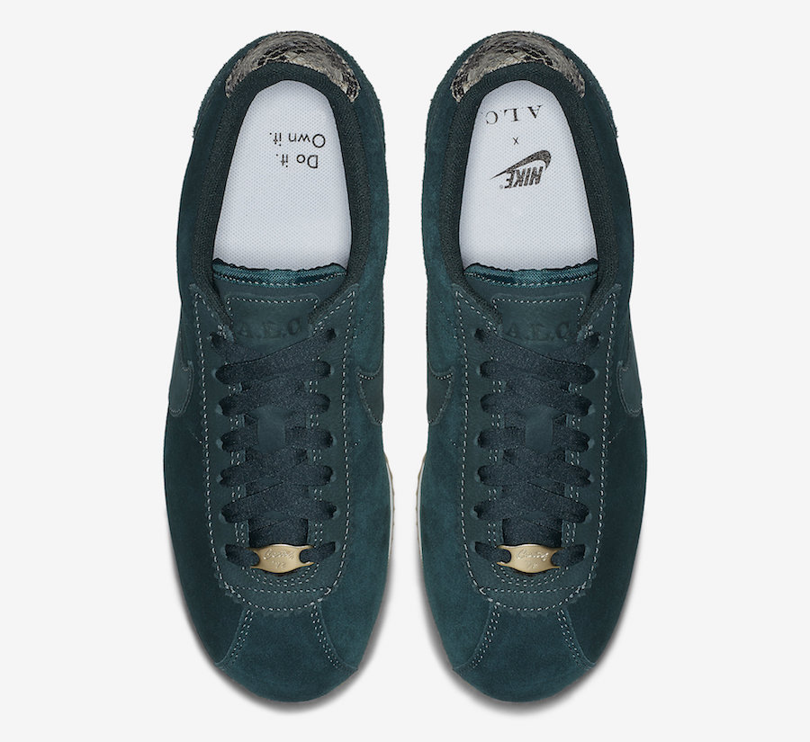 info for d7df0 2e4dd Releasing Tomorrow: The Nike Cortez A.L.C Midnight Spruce ...