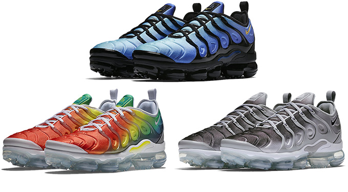 5fd855de417 Gradients Galore  Three New Colours of the Nike Air VaporMax Plus are  Available Now