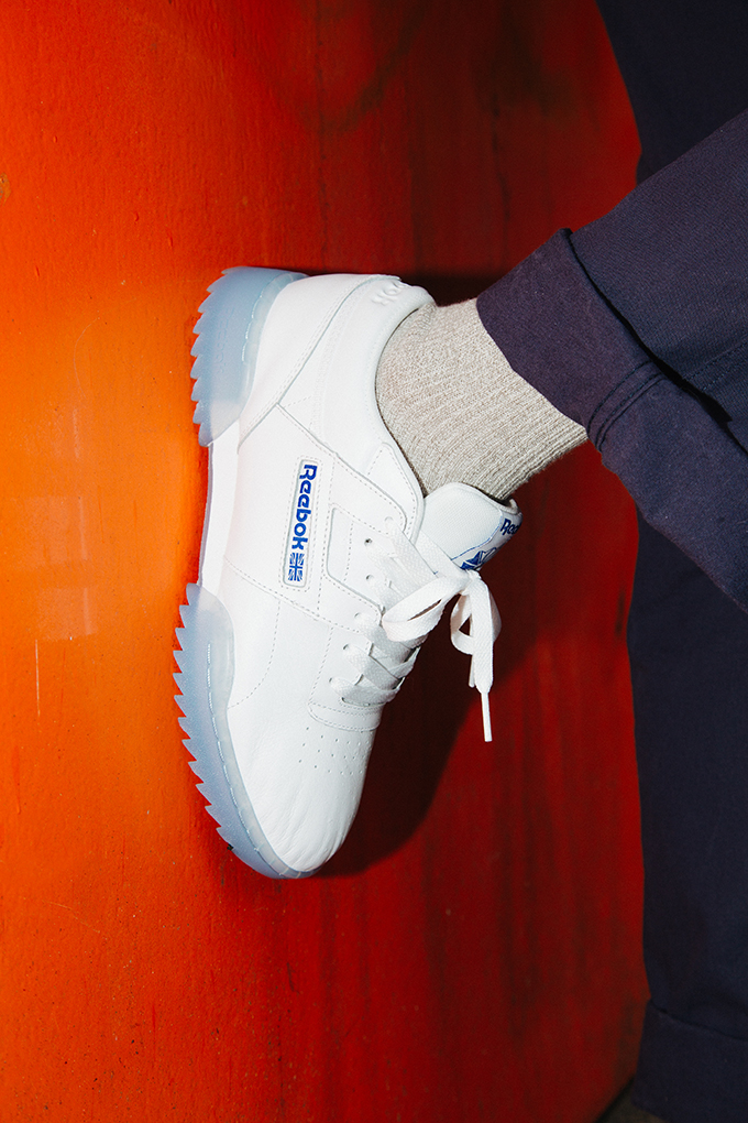 Reebok Workout Clean Ripple Ice On Foot Shots The Drop Date