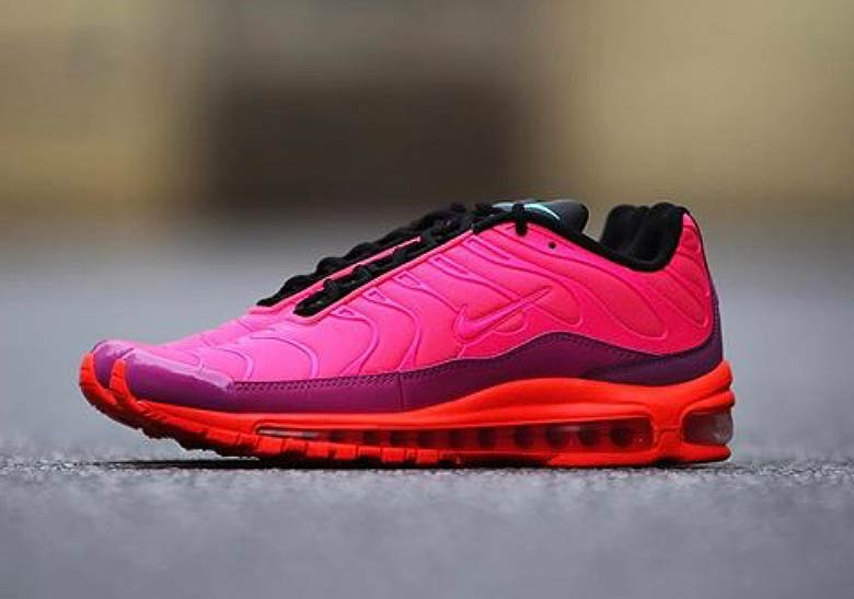 4e309494c8e714 Doubling Up  The Nike Air Max Plus 97   Air Max 97 Plus Racer Pink ...