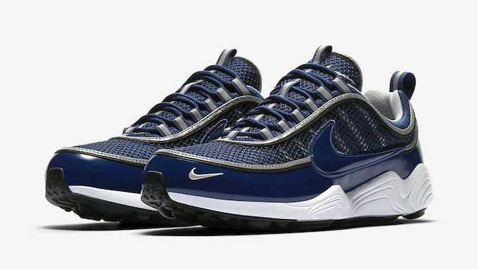 super popular a9587 45ce7 Nike s Running classic, the NIKE AIR ZOOM SPIRIDON 16, has been dressed up  in two patent leather treatments.