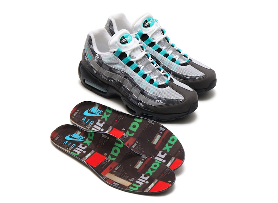 reputable site 4237d a7388 atmos Taps Throwback Aesthetics with the Air Max 95 We Love Nike ...