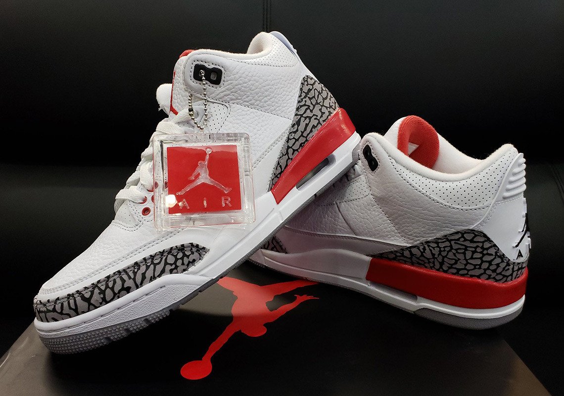 f674dc628e7 Flaming Hot  Nike Air Jordan 3 Katrina - The Drop Date