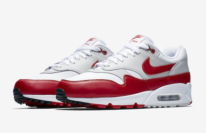 The Nike Air Max 901 White University Red Adds To Hybrid
