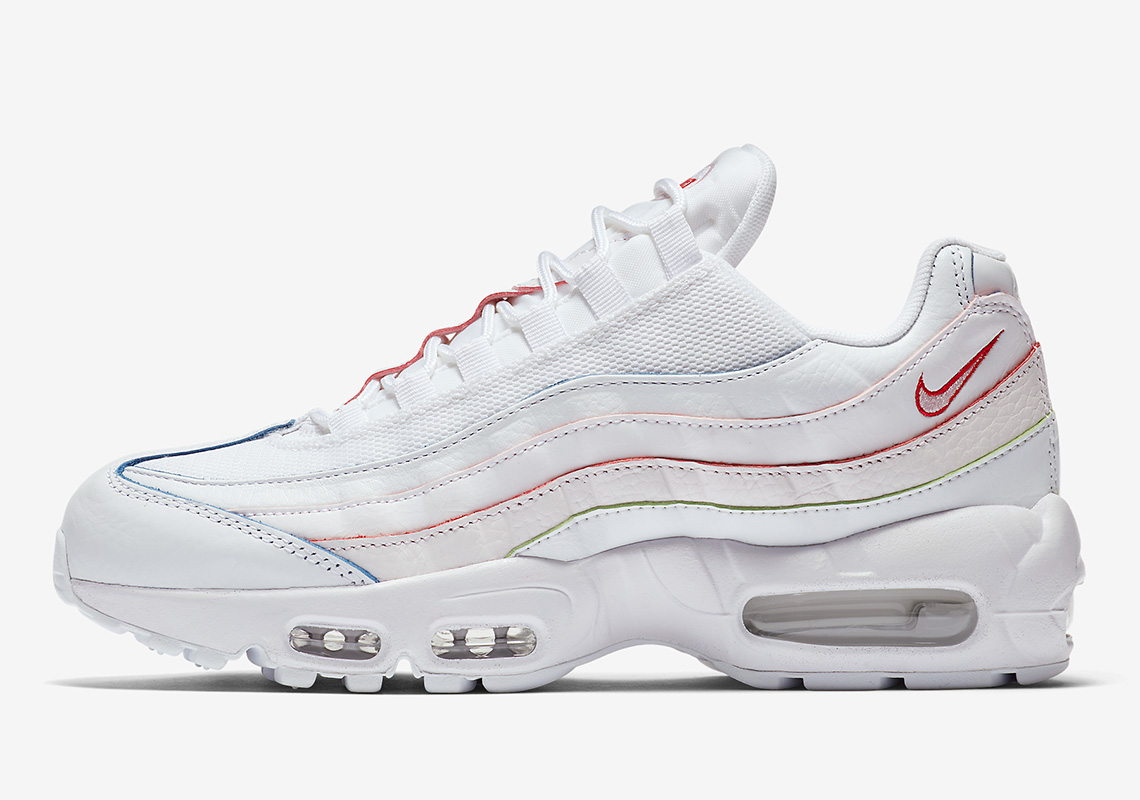 48bea84604 The Nike Air Max 95 and 97 Undergo a Subtle Rainbow Makeover - The ...
