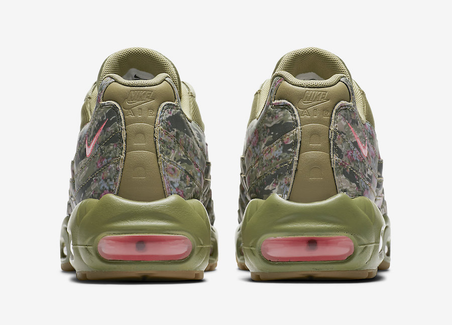 official photos 3906a 9ca9c Flower Power with the Nike Air Max 95 Floral Camo - The Drop ...
