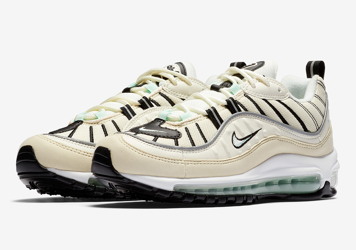 premium selection 1e8d5 c6f58 A Hint of Mint: The Nike Air Max 98 Igloo - The Drop Date