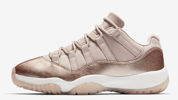 The NIKE AIR JORDAN 11 LOW ROSE GOLD is due to release on FRIDAY 13 APRIL.  Until then 912a47591062