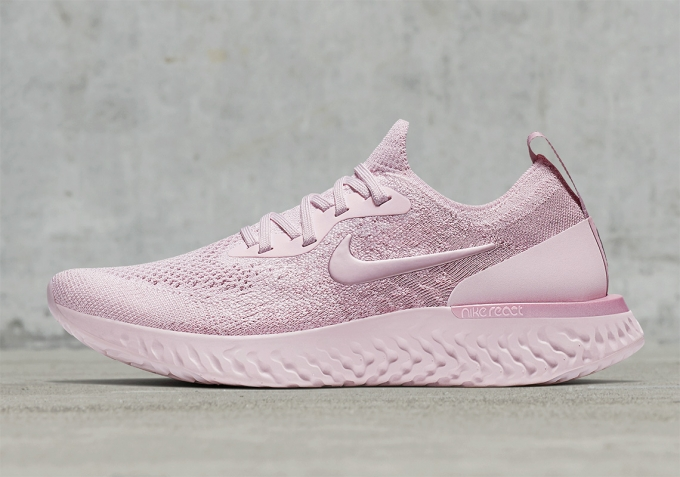 The Nike Epic React Flyknit Spins The Colour Wheel For