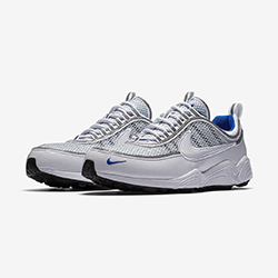 20bc42f1144e Nike Zoom Spiridon Gets a Splash of Platinum Blue