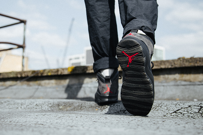 save off 539a4 ba279 Nike Air Jordan 10 Shadow: On-Foot Shots - The Drop Date