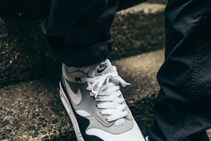 Nike Air Max 1 Wolf Grey On Foot Shots The Drop Date