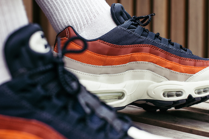 Nike Air Max 95 Essential: On Foot Shots The Drop Date