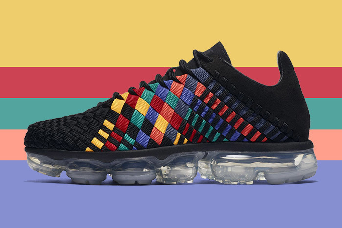 c28bcf8d58e Available Now  Nike Air VaporMax Inneva Woven Black Multi - The Drop ...