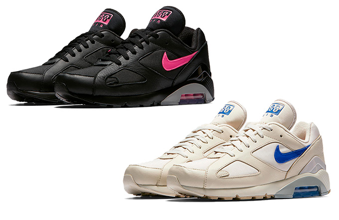 info for f961e b1063 Nike Air Max 180 Black Blast Pink Desert Sand